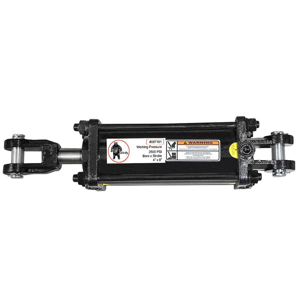 Hydraulic Cylinder 4 Quot Bore 8 Quot Stroke Grizzly 174 87101